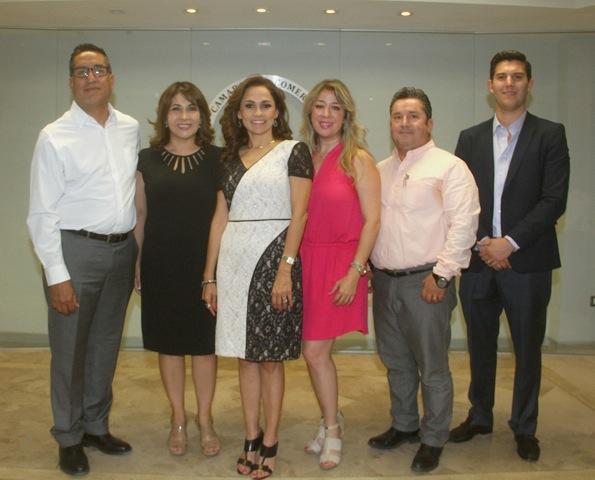 Nueva directiva Canaco Hermosillo 2017-2018 - Mirtha Alvarado Verdugo